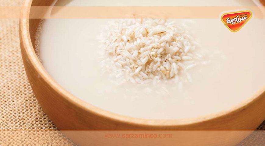راهکارهایی برای استفاده از آب برنج