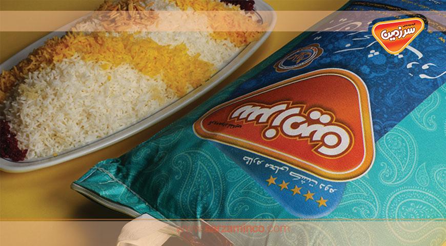 لذت پخت برنج سرزمین