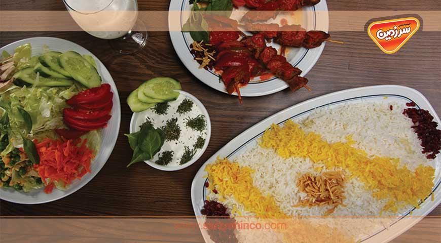گنج غذایی در سفره ایرانی!