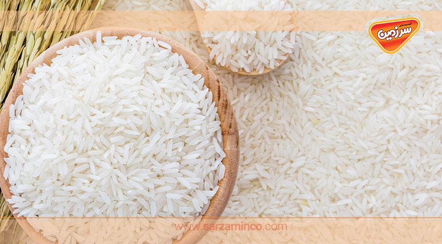 میزان مصرف استاندارد برنج در ایران و جهان