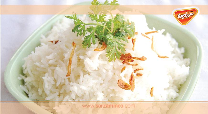 مصرف برنج در ایران