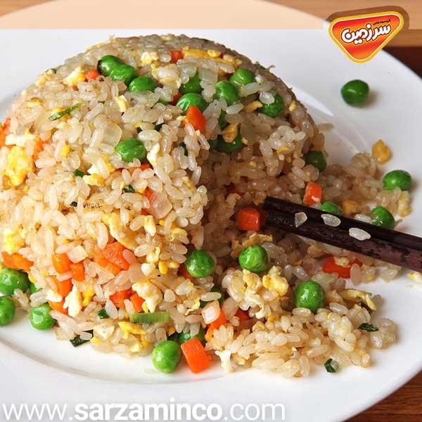 غذا با برنج