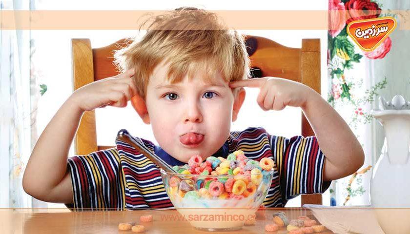 غذاهای خوشمزه برای کودکان بدغذا