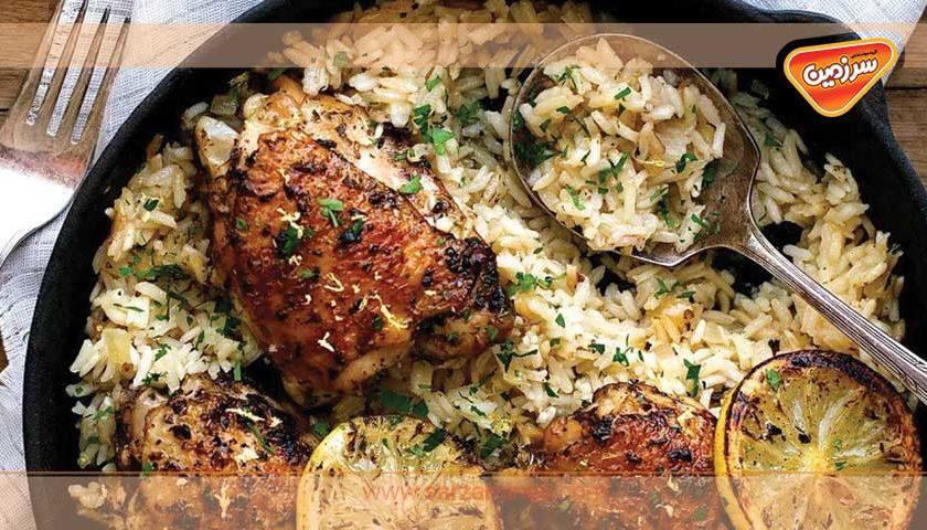 اگر از غذاهای تکراری خسته شده اید، پلو یونانی رو امتحان کنید