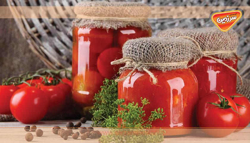 چگونه رب گوجه فرنگی را در منزل تهیه کنیم؟