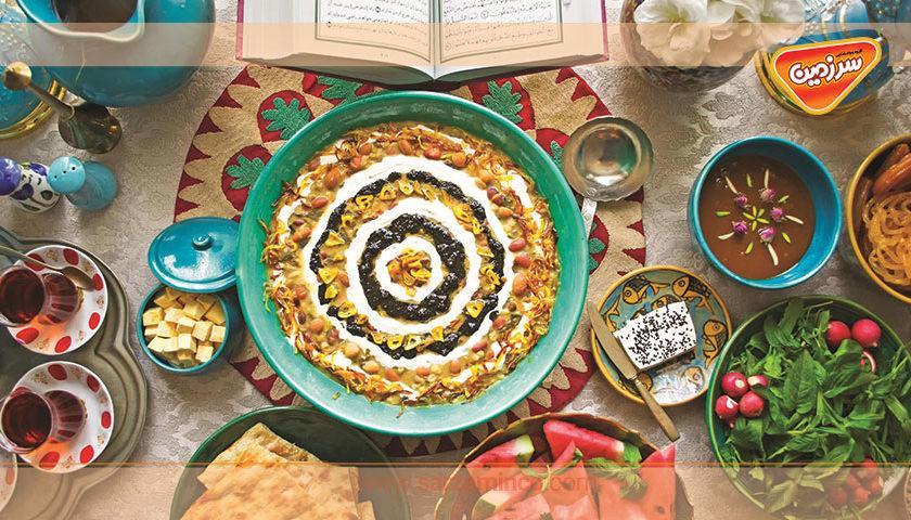 غذاهای اصیل ایرانی مخصوص افطار