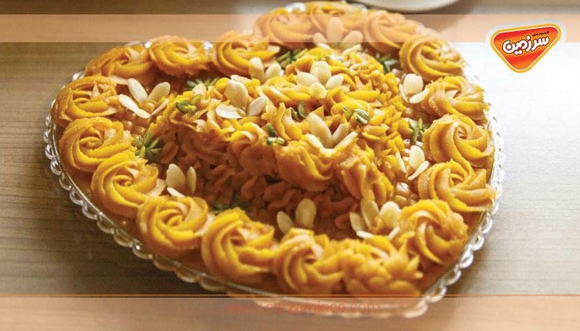 آموزش دسر هندی و حلوای گل محمدی ویژه ماه رمضان