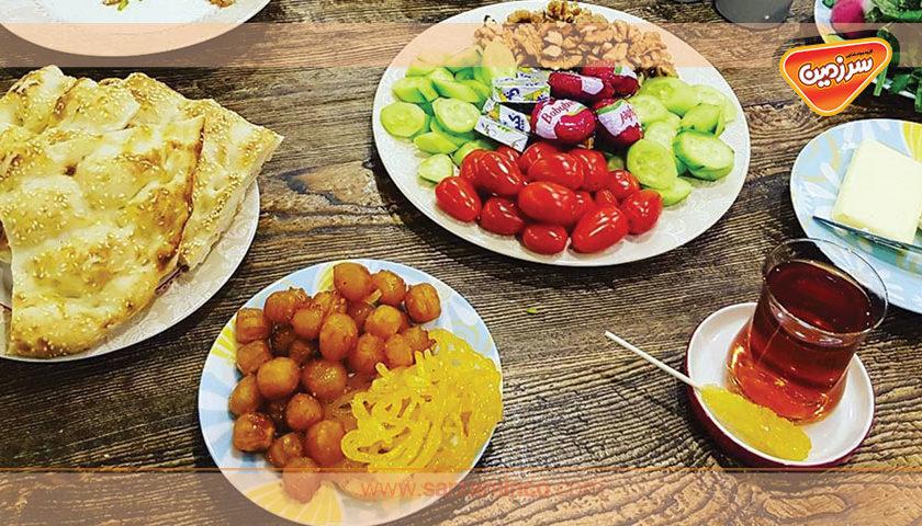 نوشیدنی های مخصوص ماه مبارک رمضان
